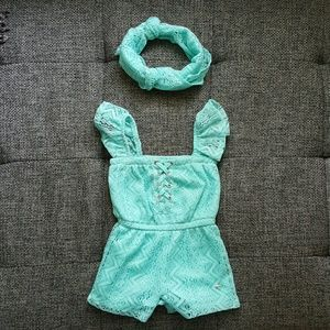 Limited Too Romper with Headband